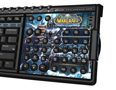world of warcraft wrath of the lich king. Zboard for World of Warcraft: