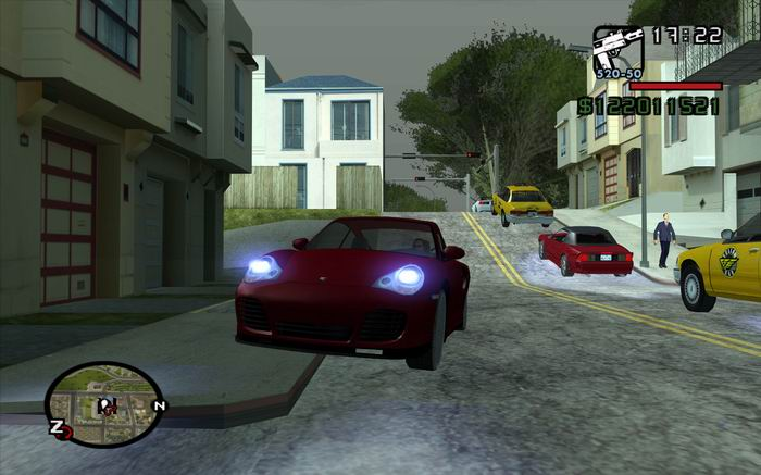 Back to GTA San Andreas Realsim Mod: Download and great comparison shots