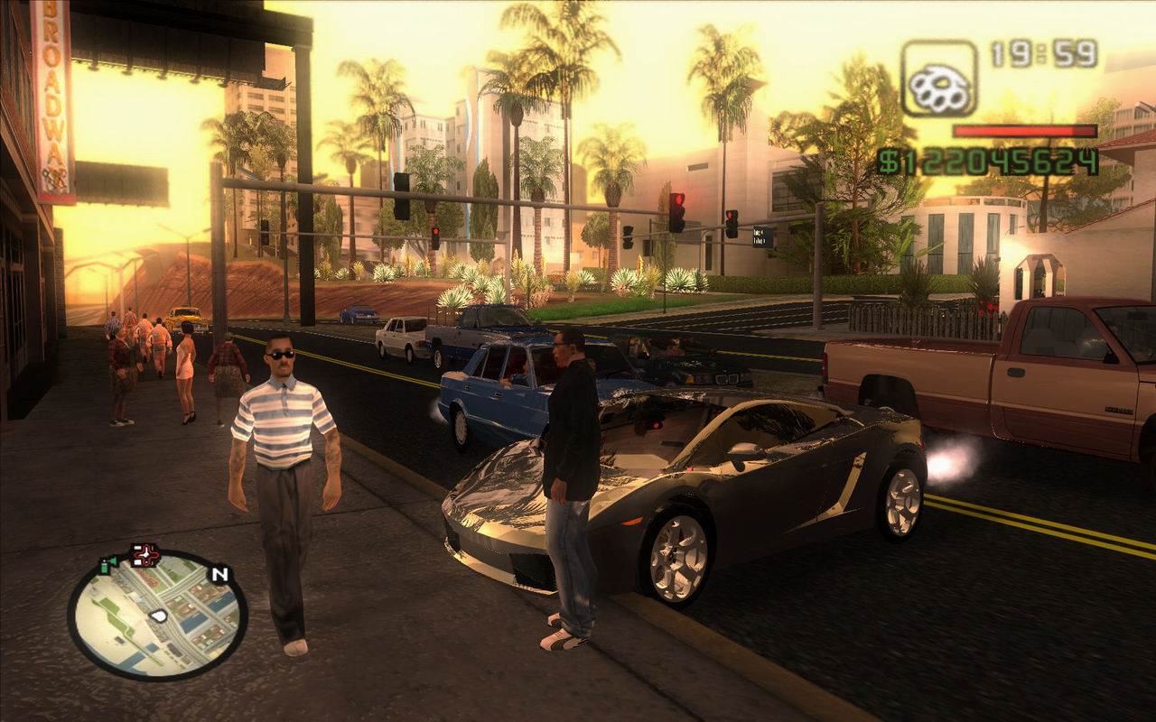 Back to gta san andreas realsim mod download and great comparison