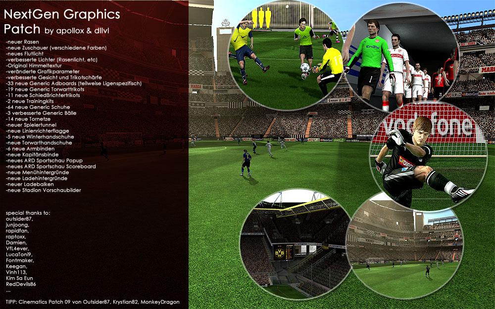 The Next Generation Graphics Patch FIFA 2009 2009/Русский скачать