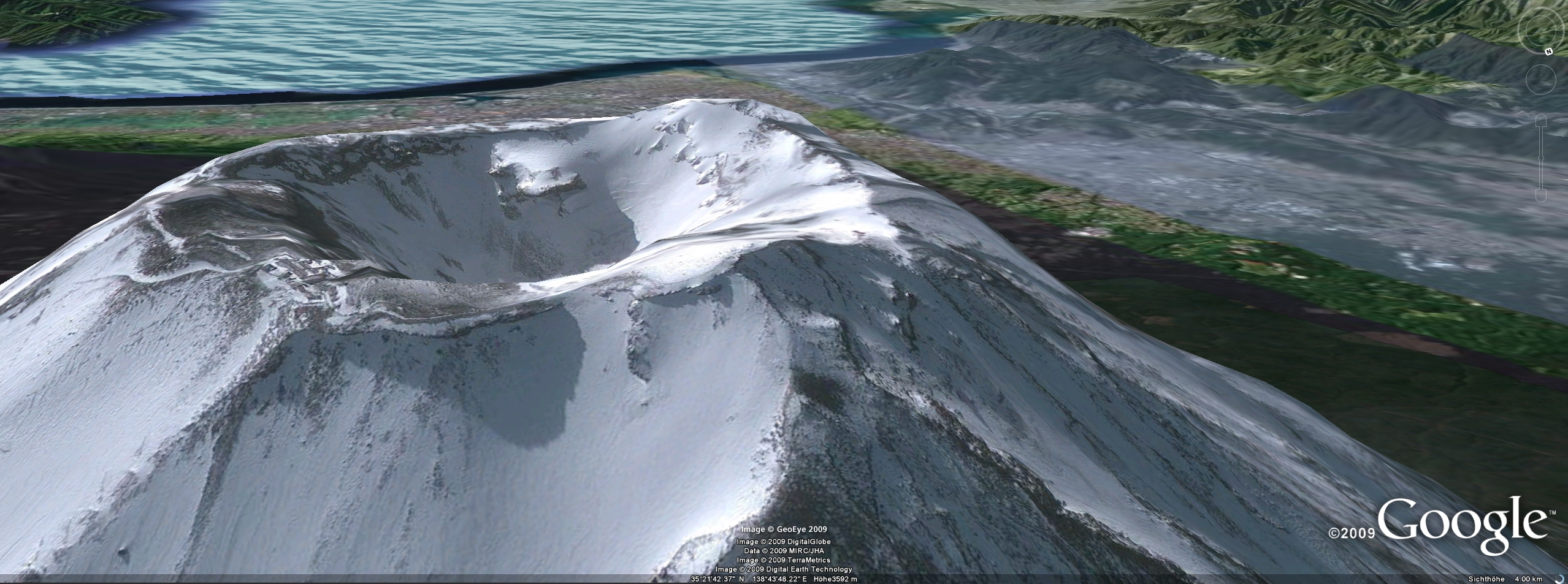 interessante orte google earth