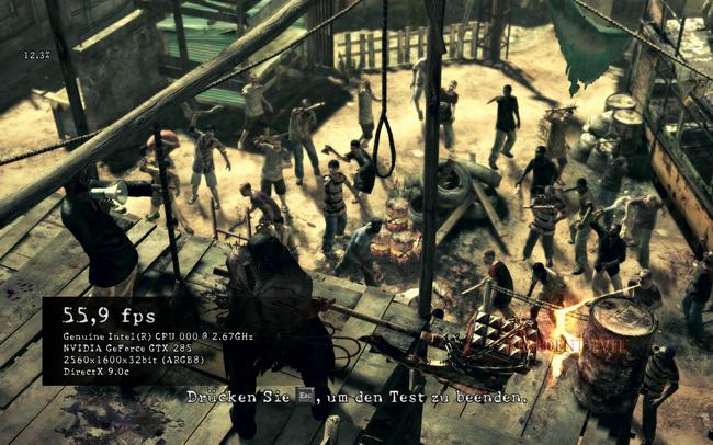 Resident Evil 5: PC vs  Xbox 360 and DirectX 9 vs  DirectX 10