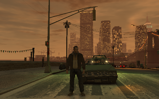 GTA4 with ENB Series