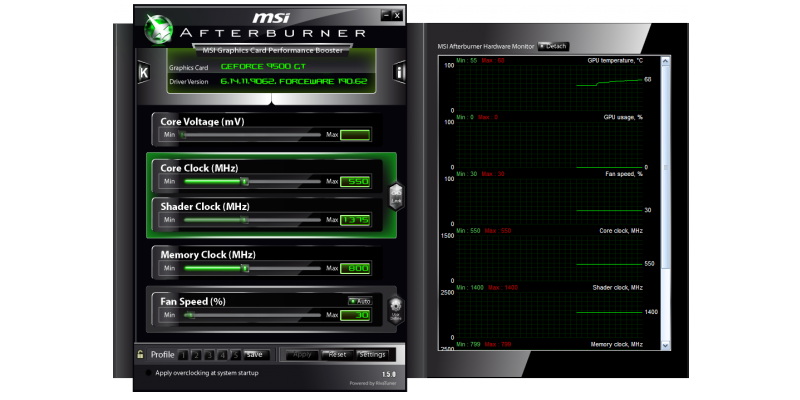 MSI Afterburner - Changelog