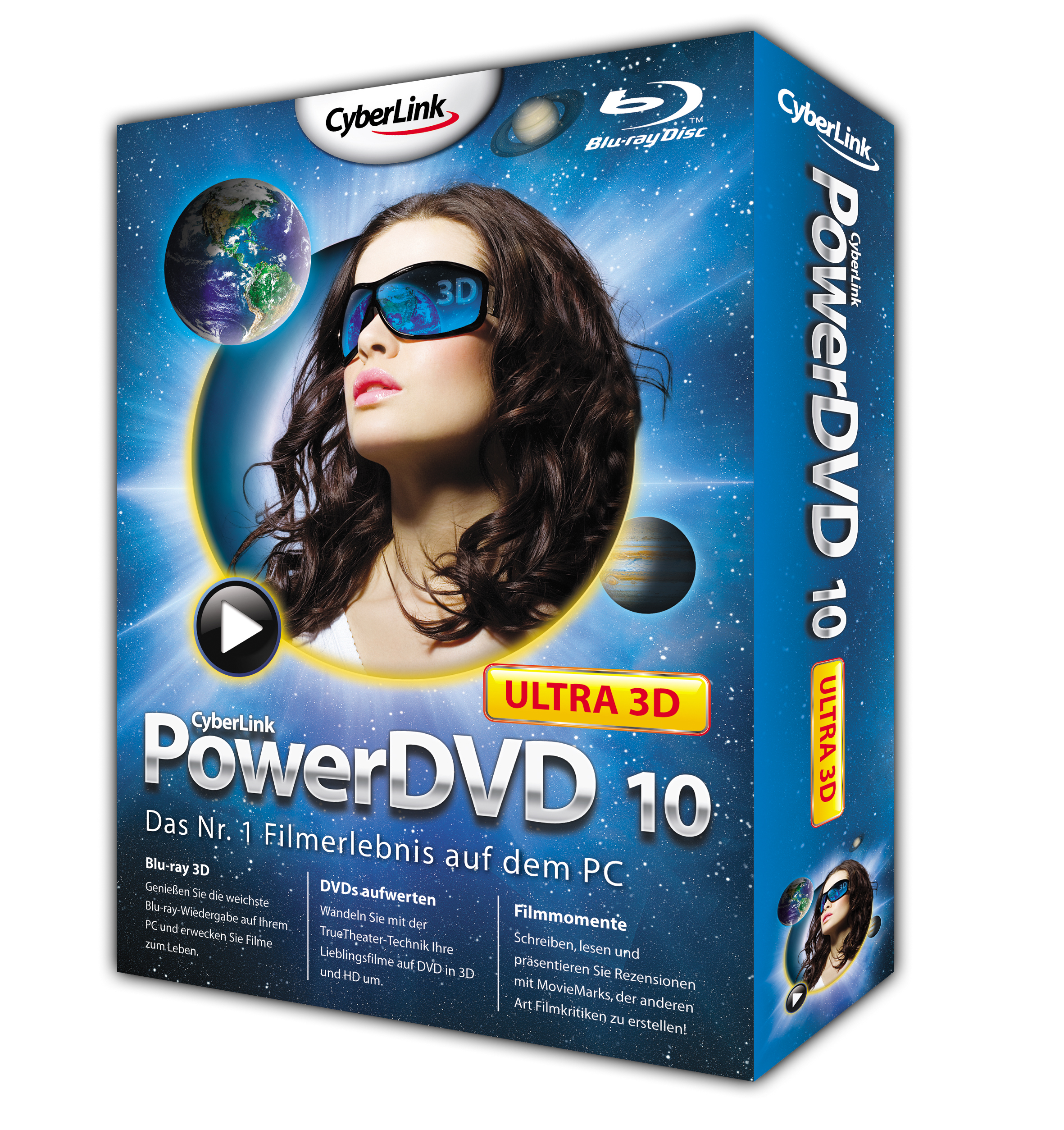 Cyberlink powerdvd 10 ultra v10.0.1516.51 retail regged