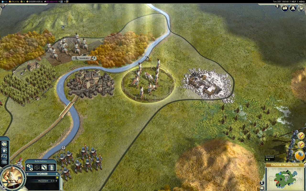 Civilization 5: DirectX 11 (6) [Source: PC Games Hardware]