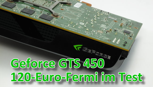 Test: Geforce GTS 450