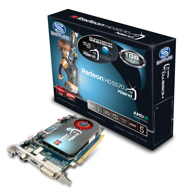 Sapphire Radeon Hd 5570 Xtendtv Tv Tuner Und Streaming