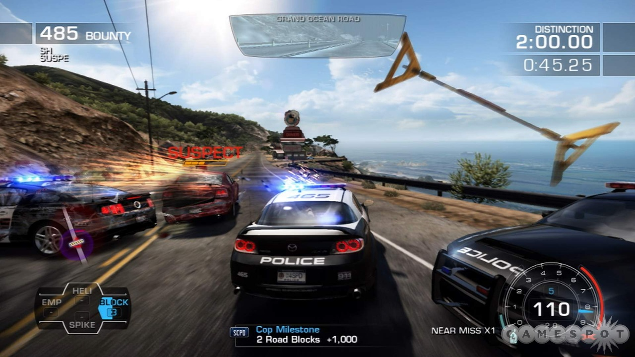 Need For Speed Hot Pursuit  Cars Ps