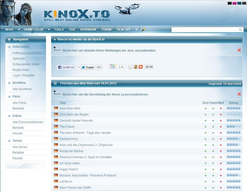 Kinox.To App Samsung