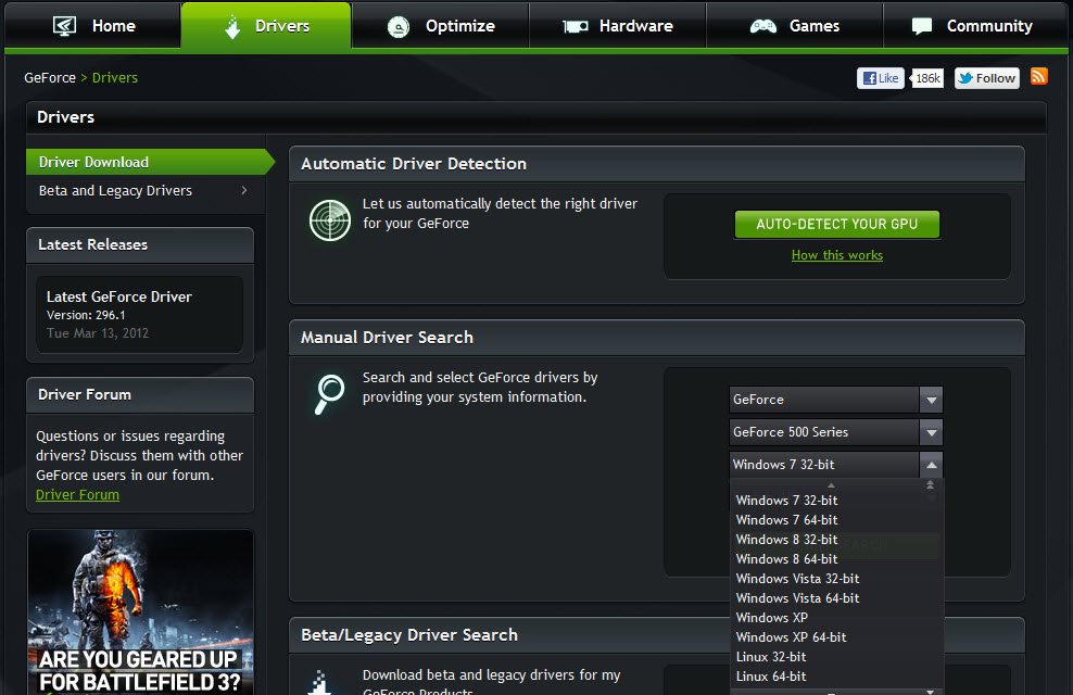 Windows and Android Free Downloads : Nvidia For Windows 8