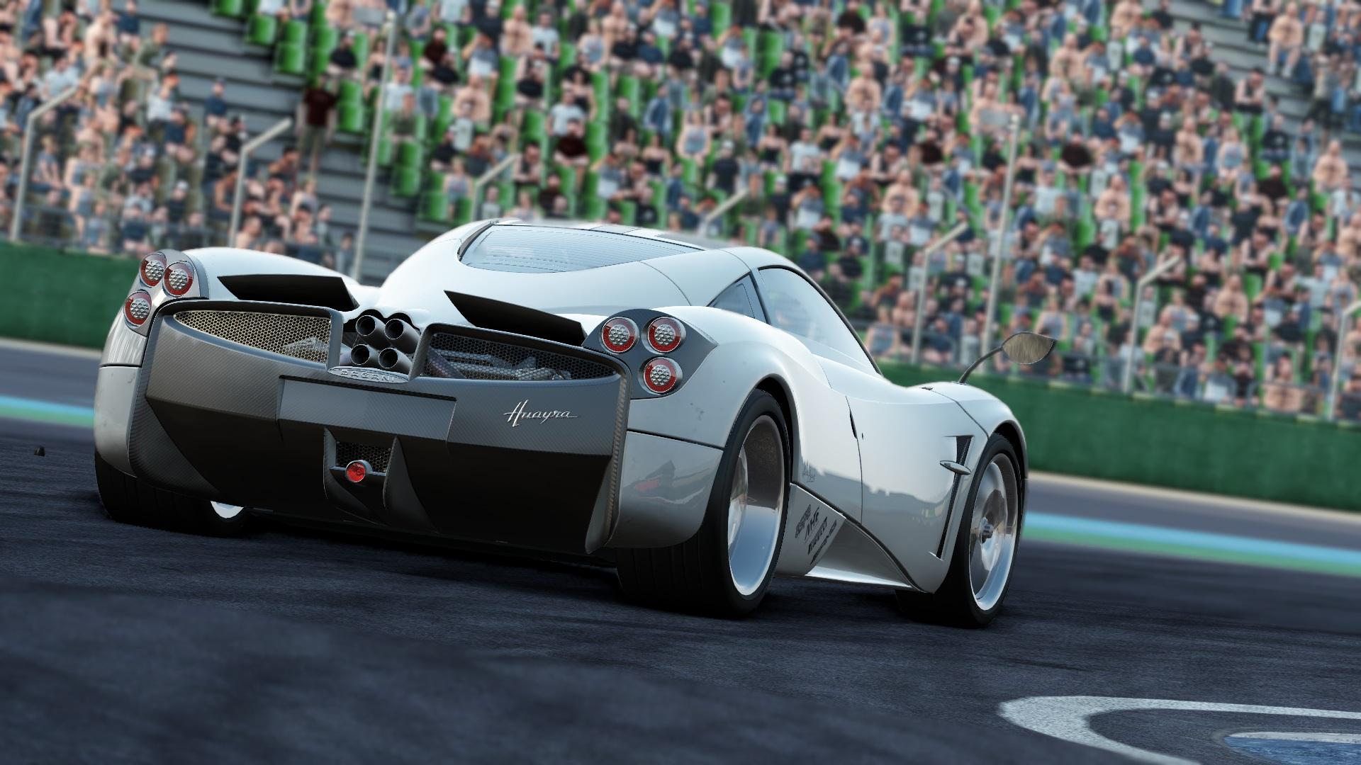 project cars: wahrhaftig atemberaubende screenshots des pagani huayra
