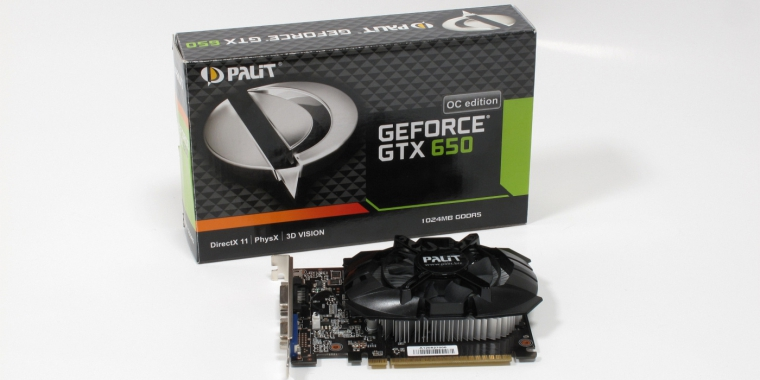 Palit Geforce GTX 650 OC