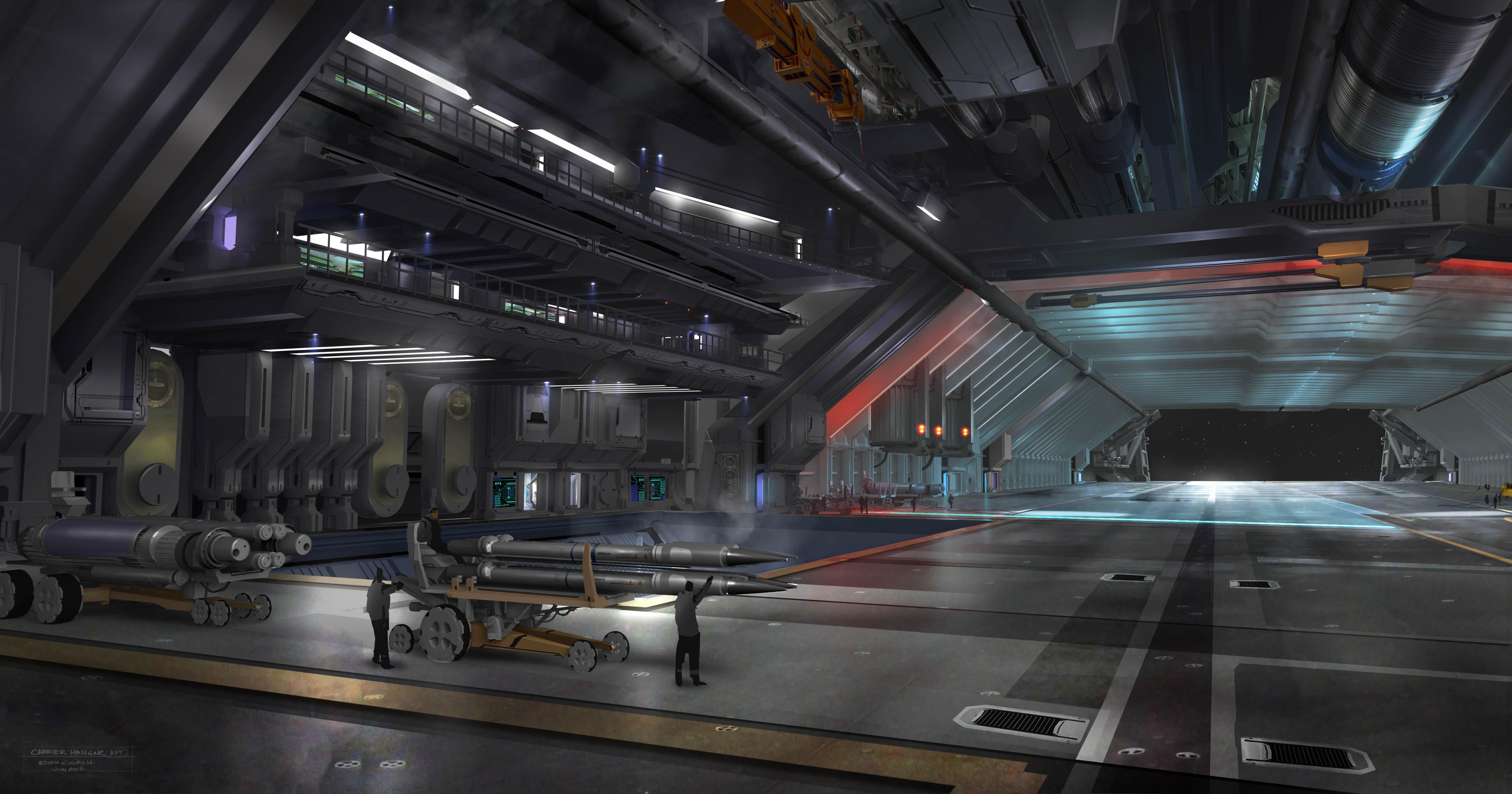 Campaña de Eadu Bengal_hangar_update