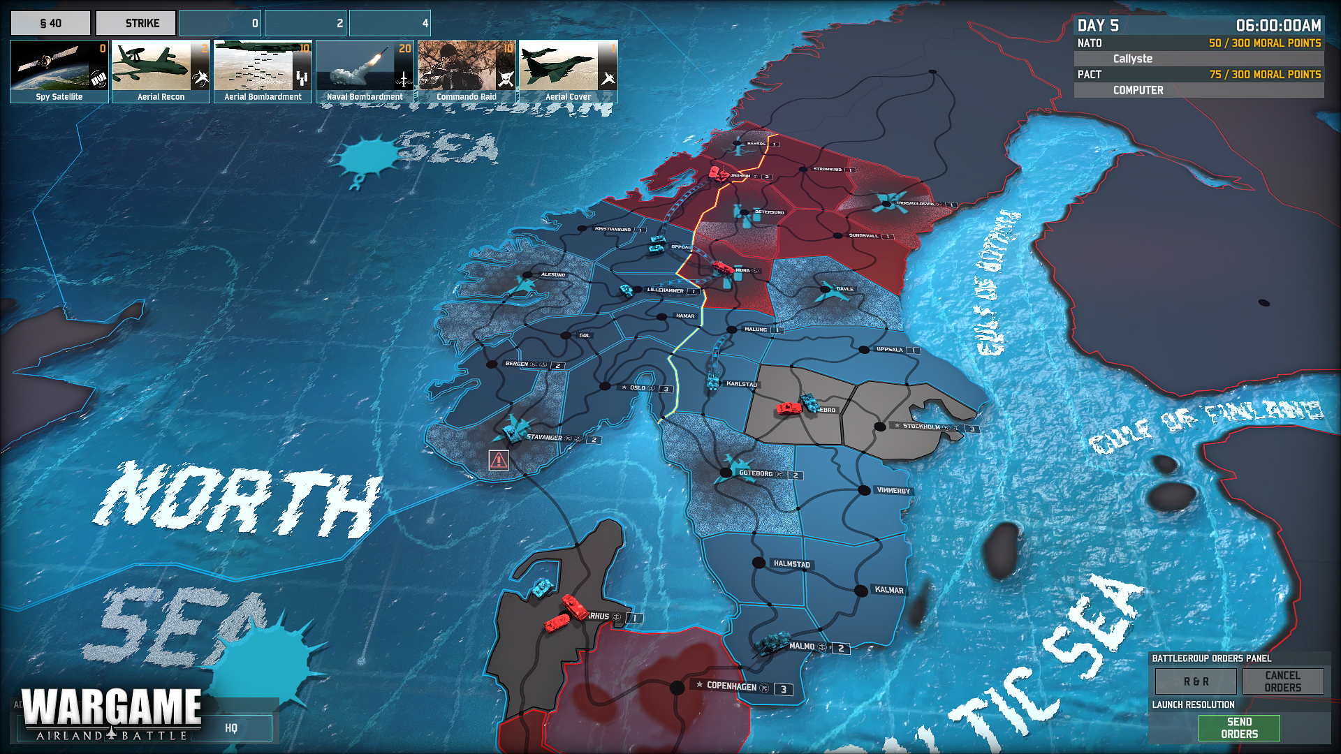 Wargame: European Escalation - Conquest 2012 pc game Img-2