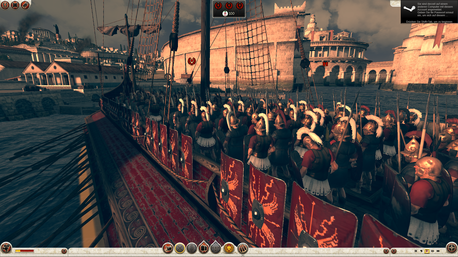 05 Rome 2 Ingame Detailstufe hoch-pcgh