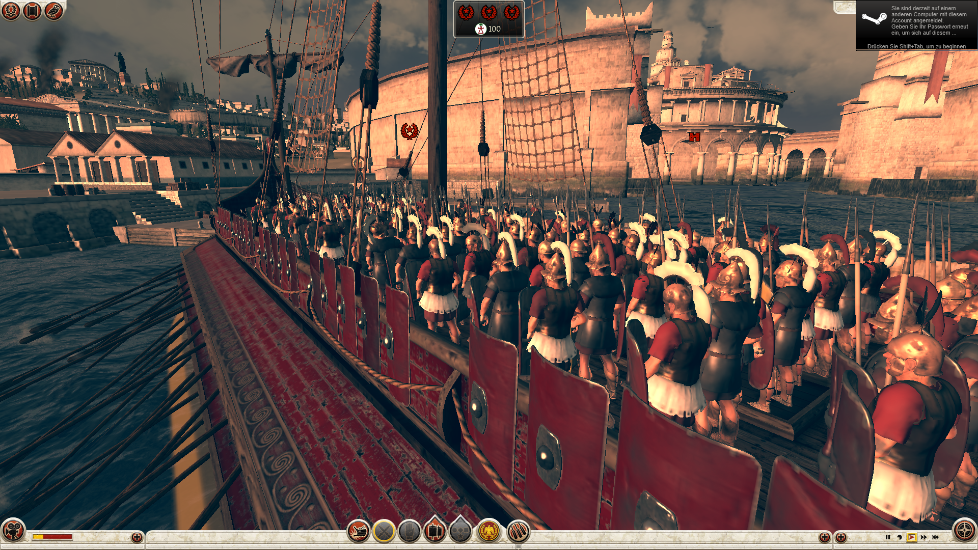 09 Rome 2 Ingame Detailstufe niedrig-pcgh