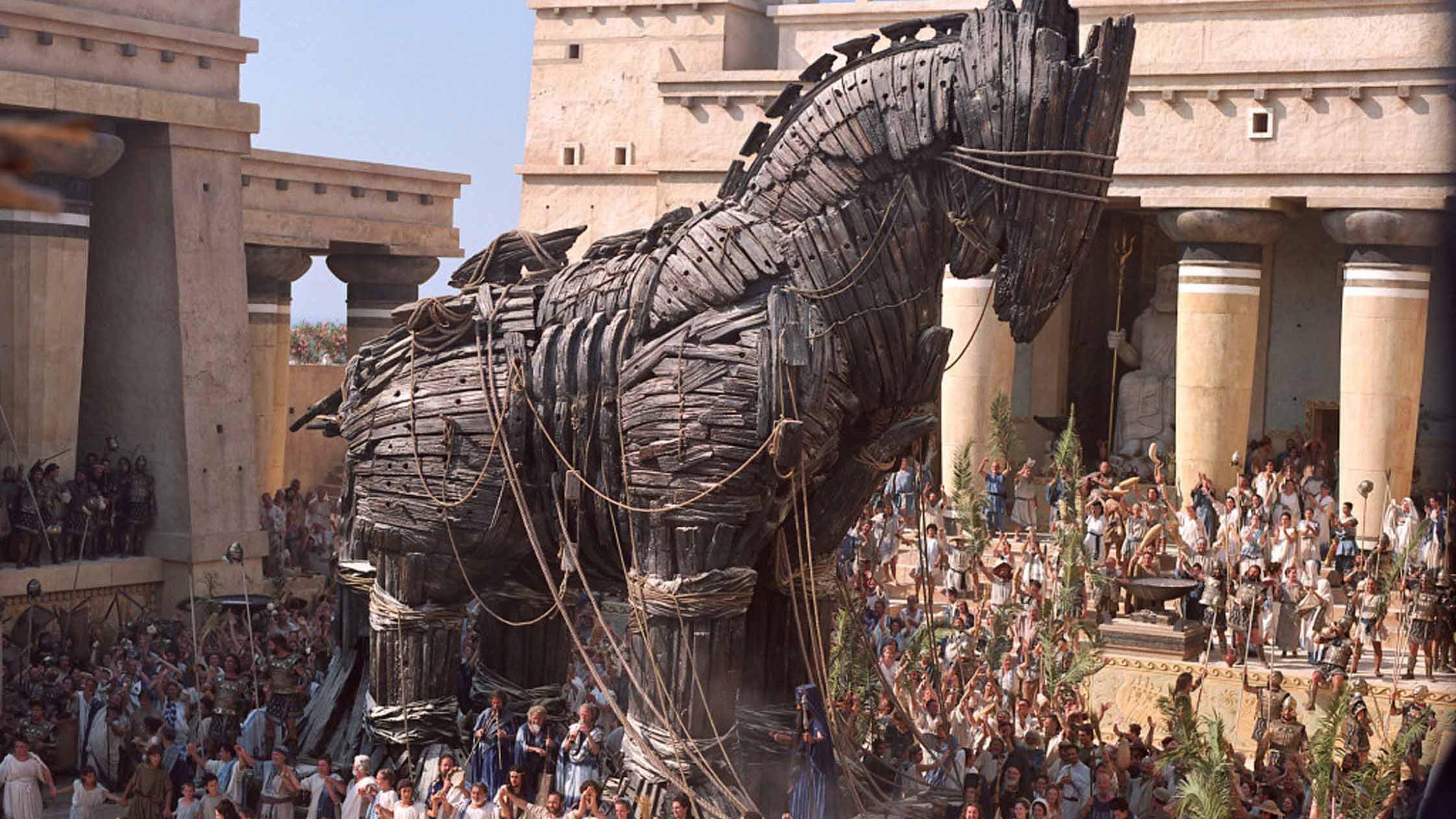 Bildergebnis für Bilder trojanisches Pferd