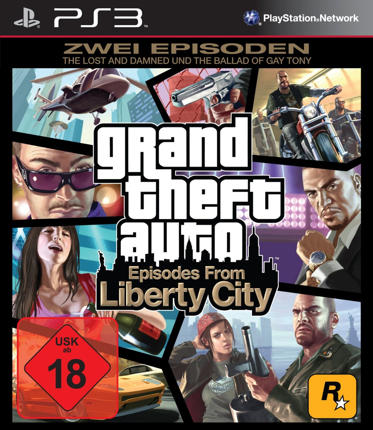 grand theft auto 4 episodes from liberty city immer aktuell. Black Bedroom Furniture Sets. Home Design Ideas