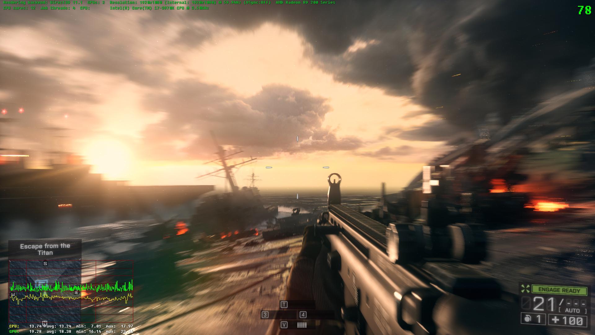 30 oder 60 Fps: Videovergleich mit Battlefield 4, Sleeping Dogs und ...