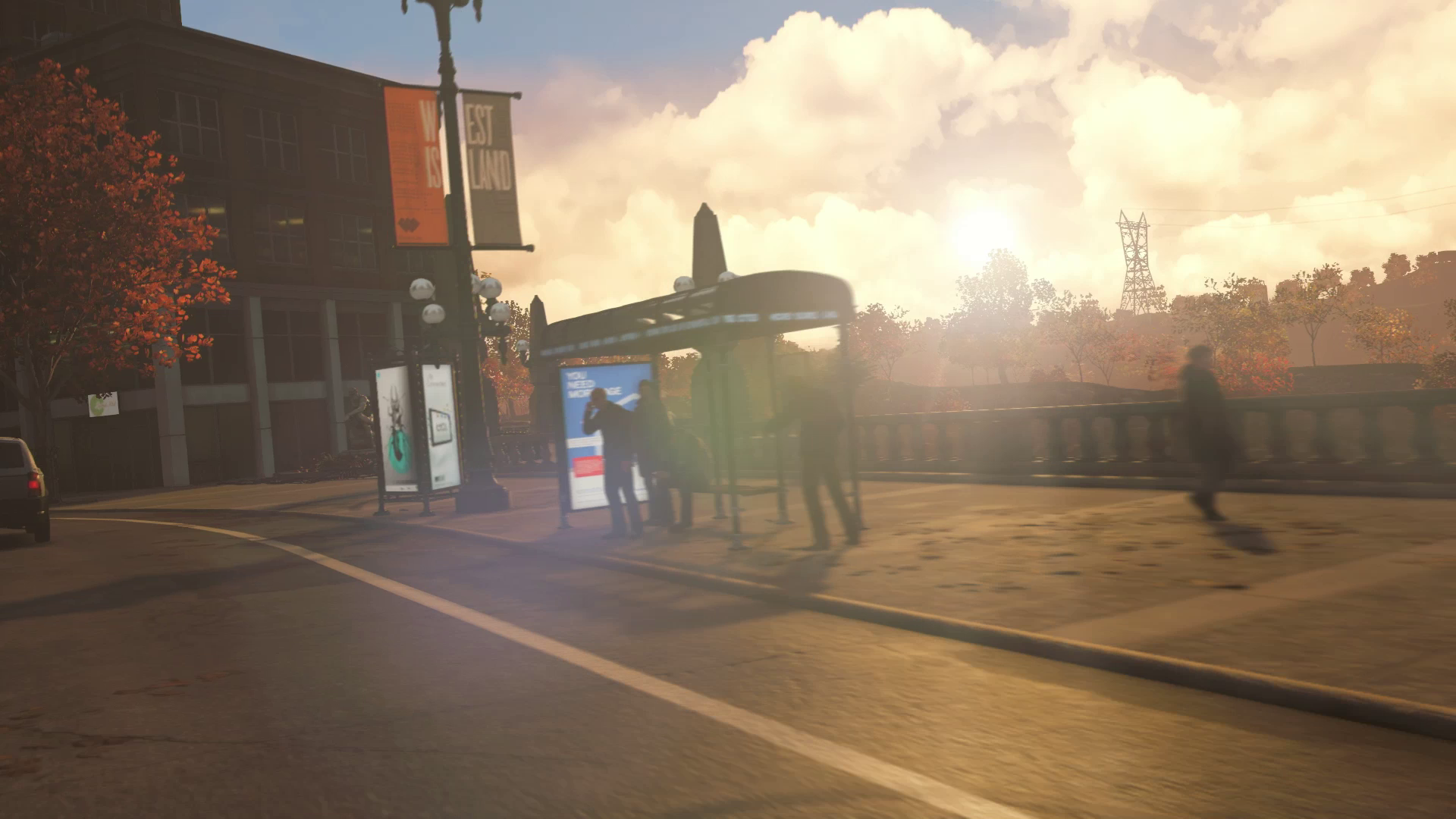 Watch Dogs Lens Flare PS4 2014-pcgh