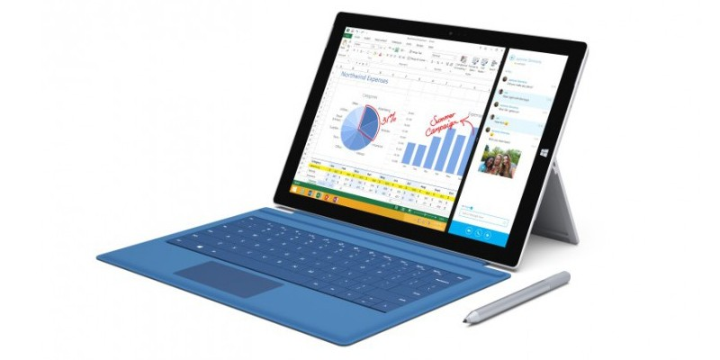 Microsoft Surface Pro 4: Angeblich mit Windows 10 und Intel Core M.
