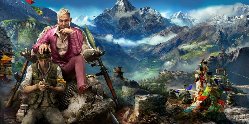 Far Cry 4: Zerstörungskraft der Elefanten im Gameplay-Video