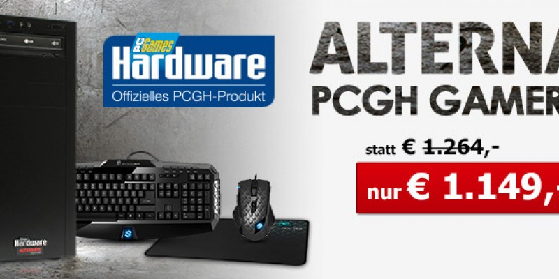 Limitiert - Alternate/PCGH-PC Gamer 2K14: Core i5-4690K + MSI GTX770 Twin Frozr für 1.149 Euro [Anzeige]
