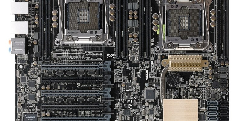 Asus Z10PE-D8 WS: Dual-Sockel-Mainboard für Haswell-EP ab 461 Euro gelistet