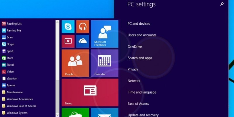 Windows 9 Startmenü und mehr: Screenshots aus der Threshold Technical Preview
