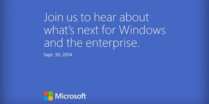 Windows 9: Microsoft-Event am 30. September - Release der Technical Preview?