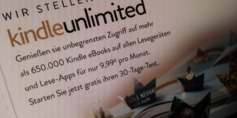 Kindle Unlimited startet in Deutschland