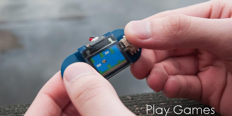 Tiny screen auf kickstarter erweiterbares mini display