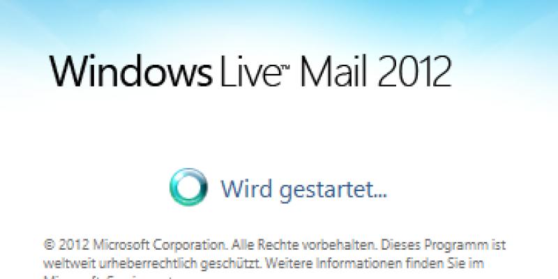 windows livemail2012