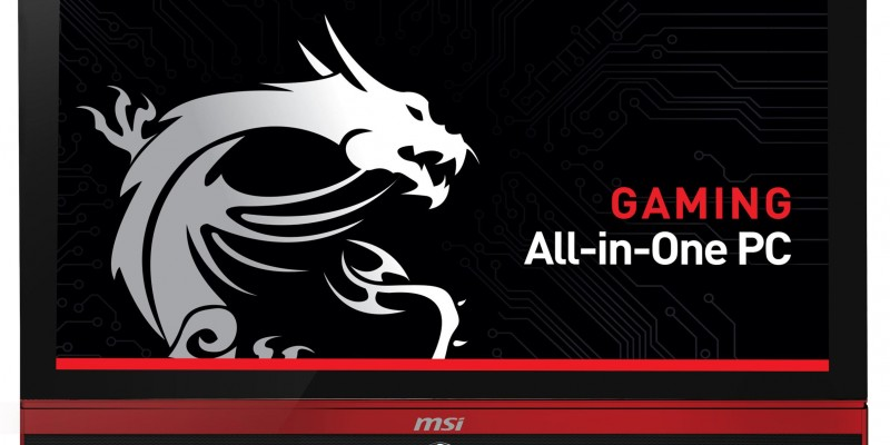 All-in-One-Gaming-PC: MSI AG270-2QE mit Core i7-4860HQ und Geforce GTX 980M