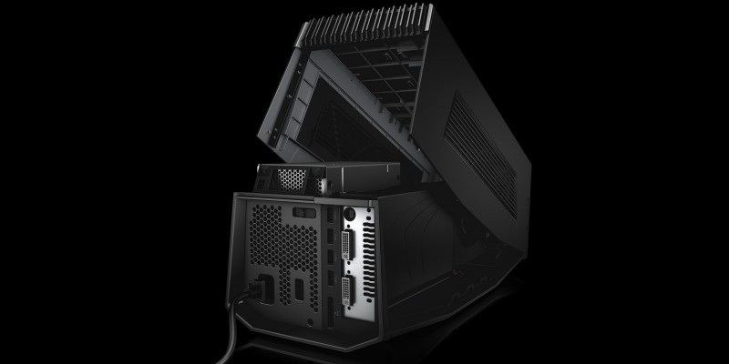 Dell Alienware Grafikverstärker: Desktop-Grafikkarten für Notebooks (4)