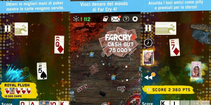 Far Cry 4 Arcade Poker: Companion App zum Shooter mit weniger Nervfaktor als in Unity
