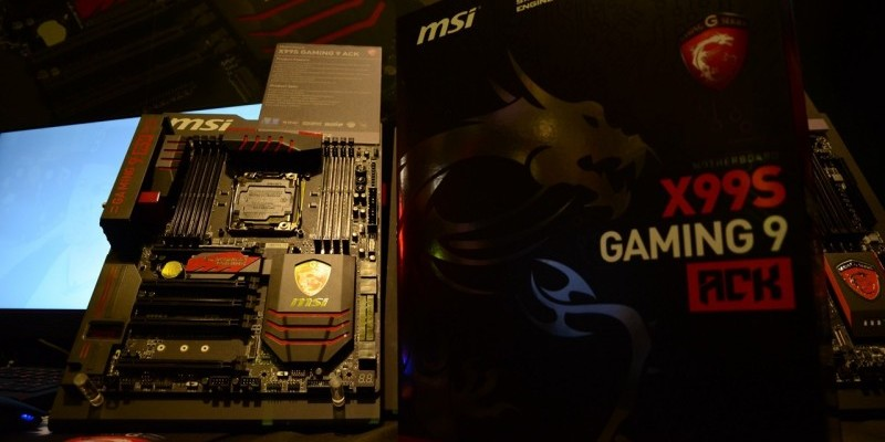 MSI X99S Gaming 9 ACK: High-End-Mainboard mit Killer-WLAN und Streaming-Engine (1)