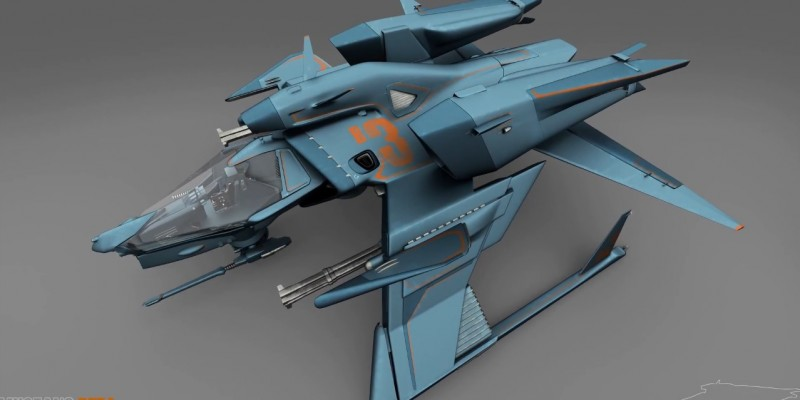 Star Citizen Mustang Beta 1 (1)