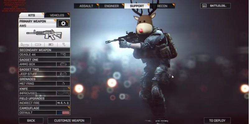 Andere Weihnachtsgeschenke.Battlefield 4 Als Schneemann In Die Schlacht Ziehen Und Andere