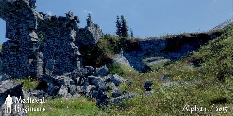 Medieval Engineers: Mittelalter-Simulation ab 19. Februar im Early-Access-Programm