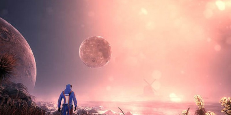 Solus: Einsamer Screenshot aus dem Survival-Game auf Unreal-Engine-4-Basis.