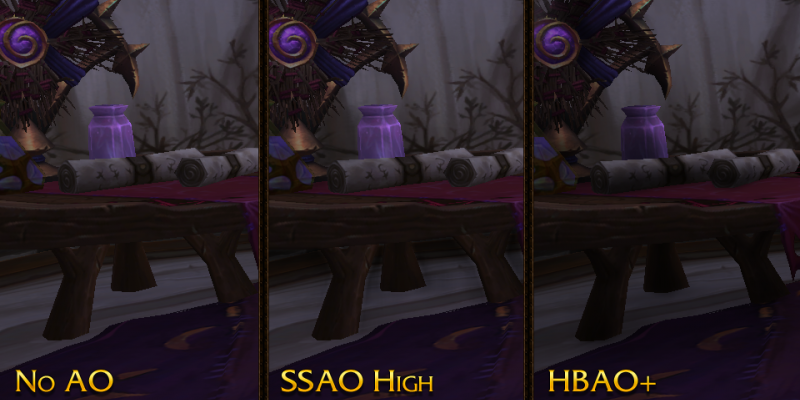 wow warlords of draenor msaa ssaa hbao und verbessertes licht in wow patch 6 1. Black Bedroom Furniture Sets. Home Design Ideas