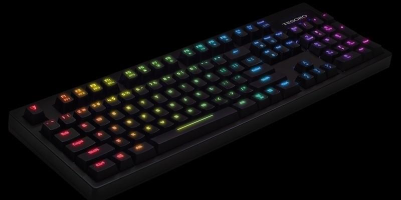Tastatur Mit Beleuchtung | Tesoro Excalibur Spectrum Mechanische Kailh Tastatur Mit Rgb