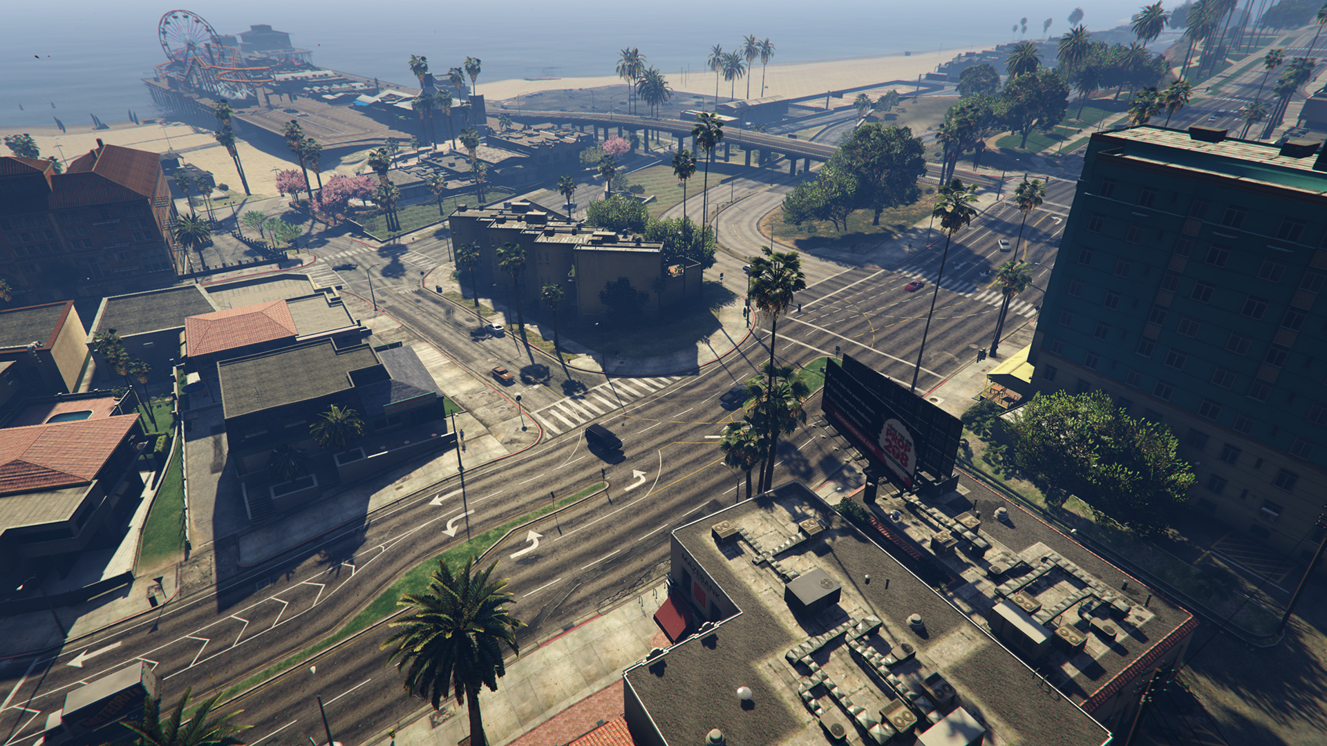 GTA 5 Extended Shadow Distance 40 Prozent-pcgh