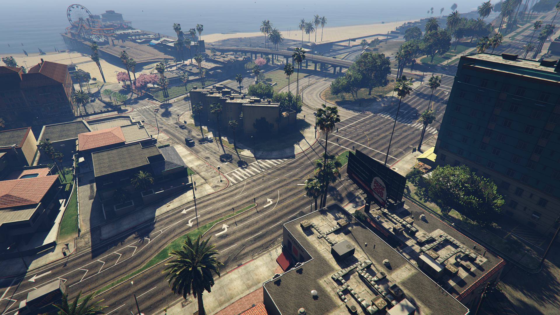 GTA 5 Extended Shadow Distance 60 Prozent-pcgh