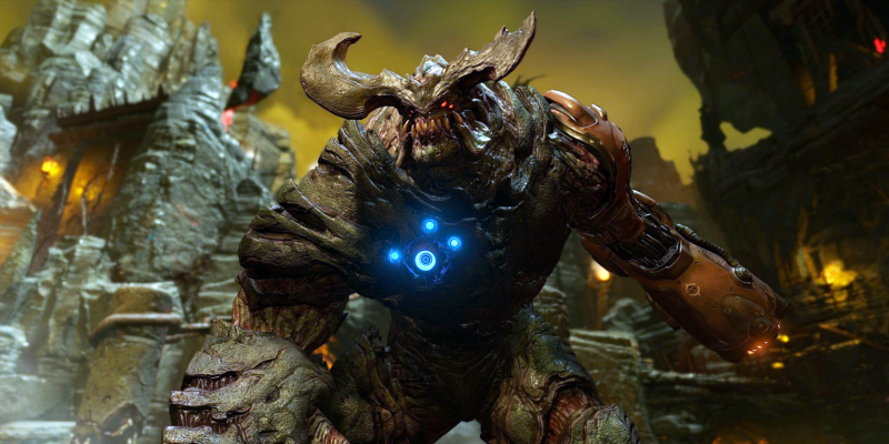 Doom: id-Tech-6-Engine ohne Mega-Texturen-Feature