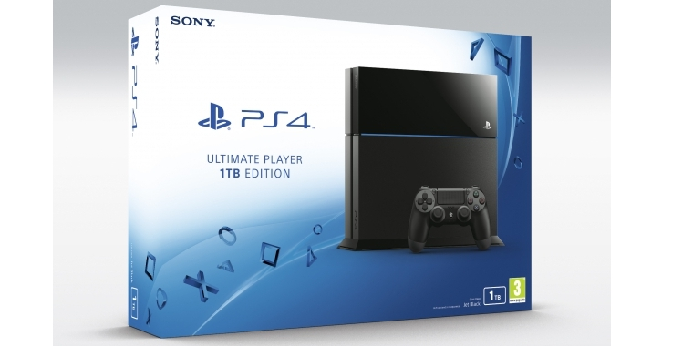Playstation 4 Ultimate Player: Neues Modell mit 1-TB-Festplatte kostet 399 Euro