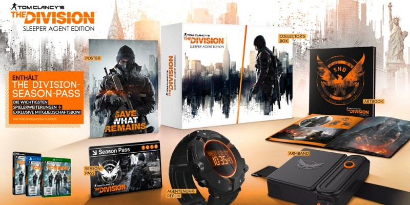 The Division Collectors Edition Mit Funktionsfähiger Agentenuhr