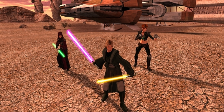Star Wars Knights of the Old Republic 2: Steam-Update